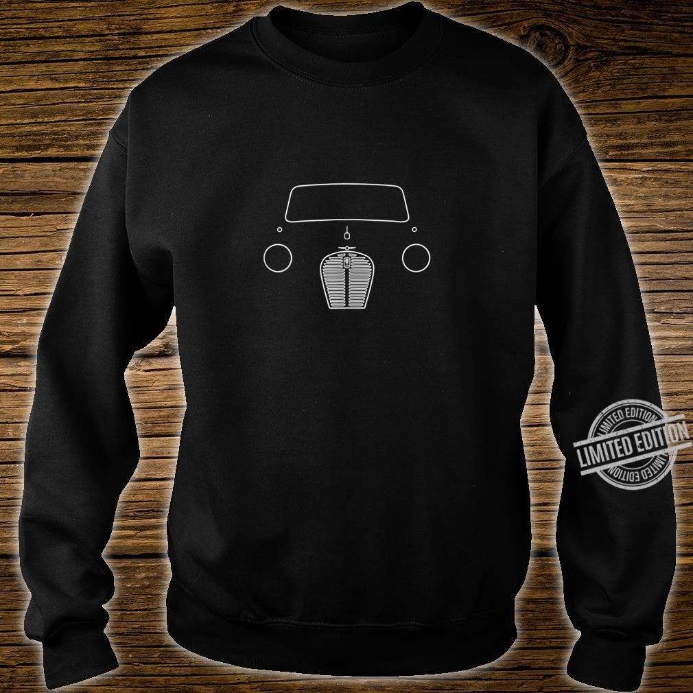 Austin A30A35 classic car white outline Shirt sweater