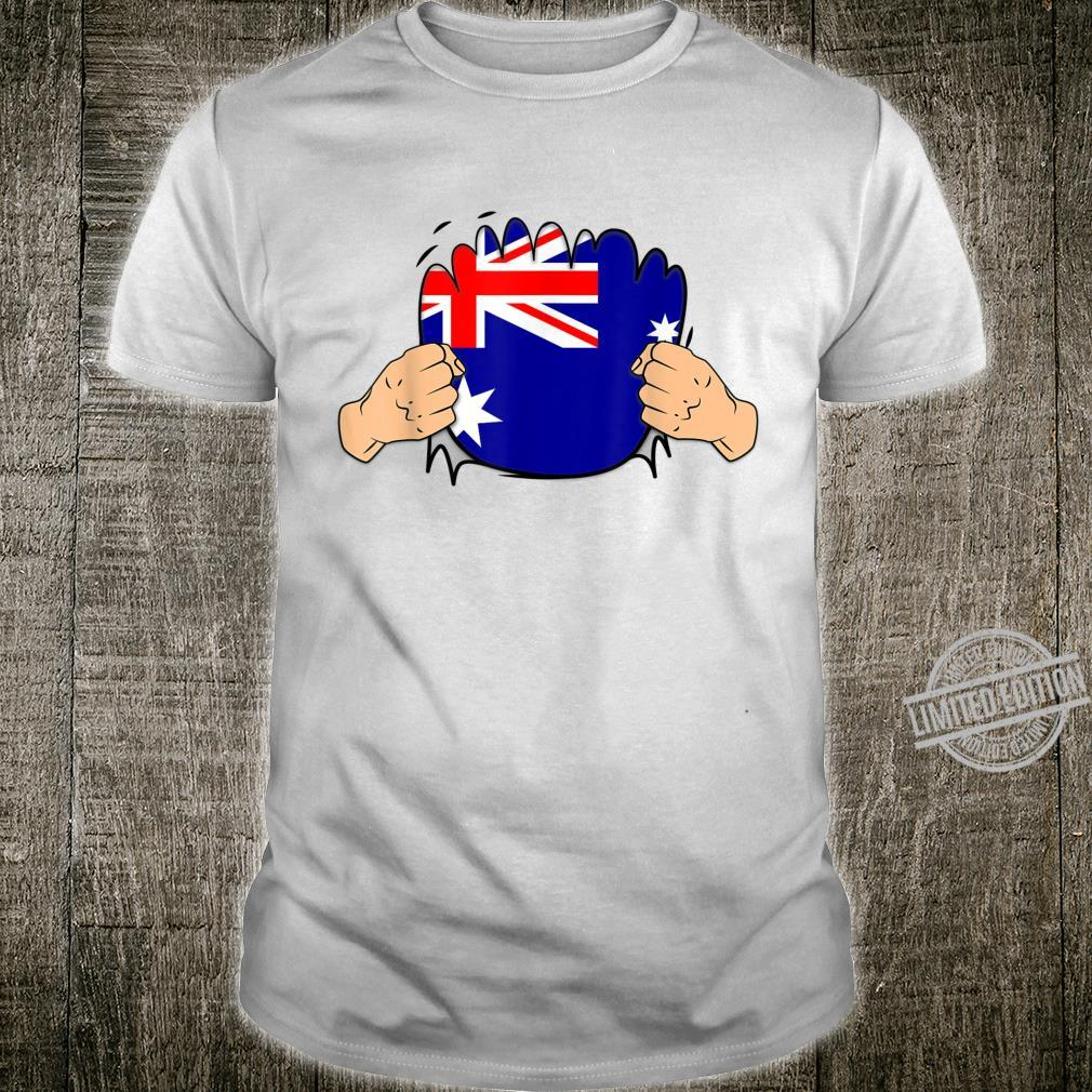 Australia Roots Heritage Flag Shirt