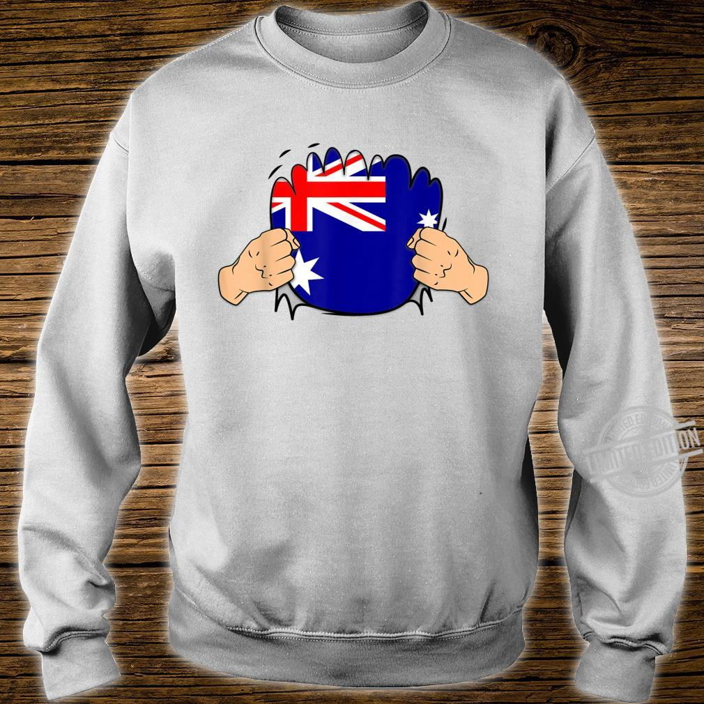 Australia Roots Heritage Flag Shirt sweater