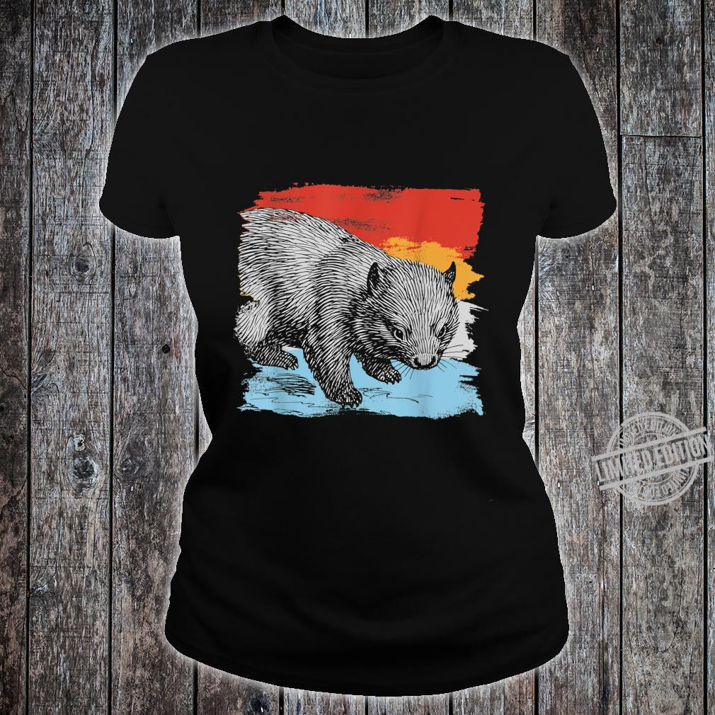 Australia Wombat Shirt ladies tee