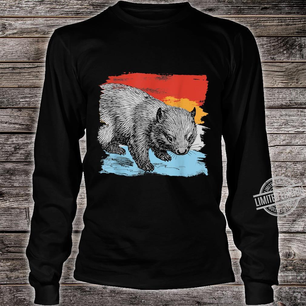 Australia Wombat Shirt long sleeved