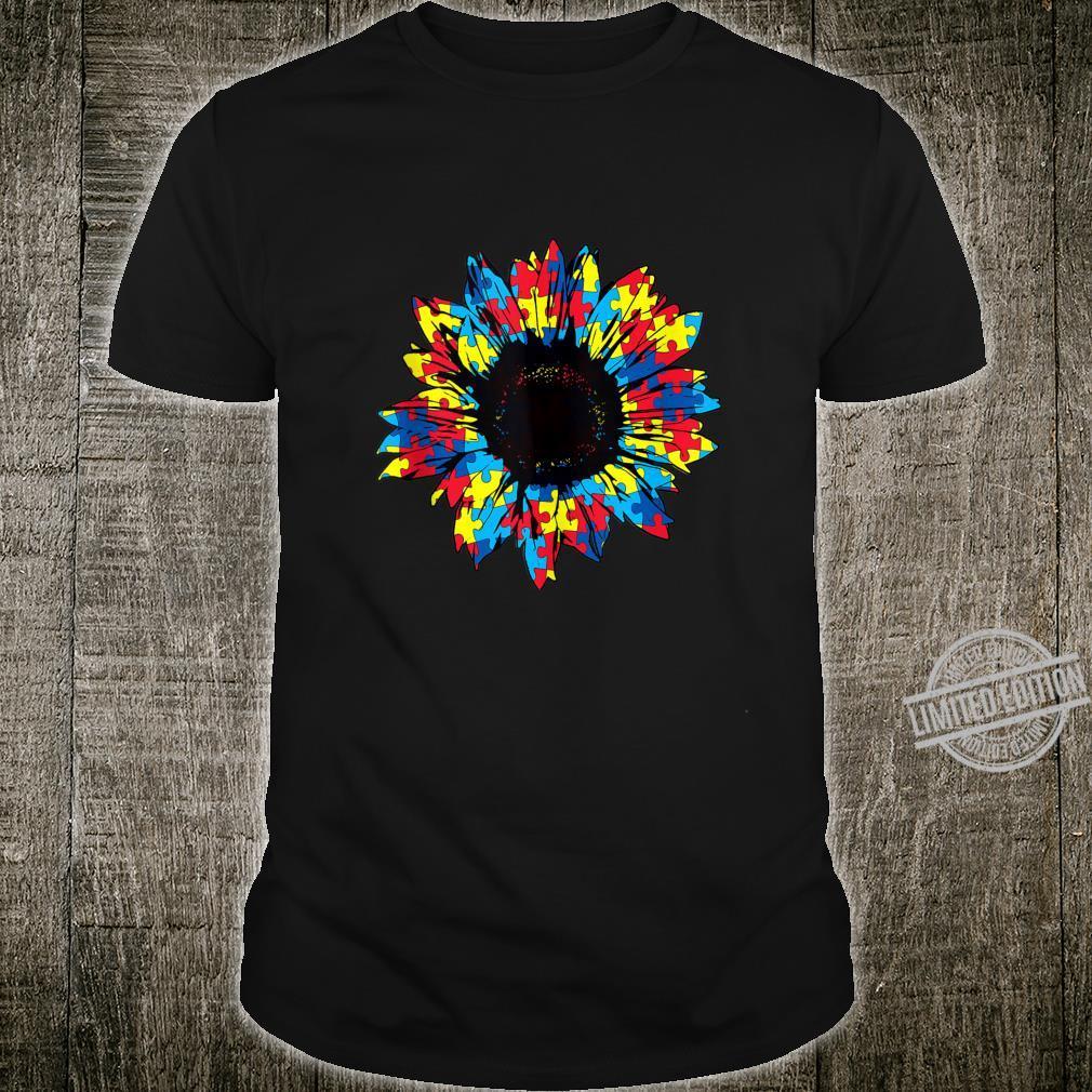 Autism Awareness Sunflowertal Health Shirt