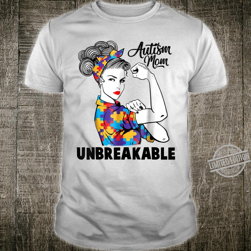 Autism Mom Unbreakables Autism Awareness Shirt
