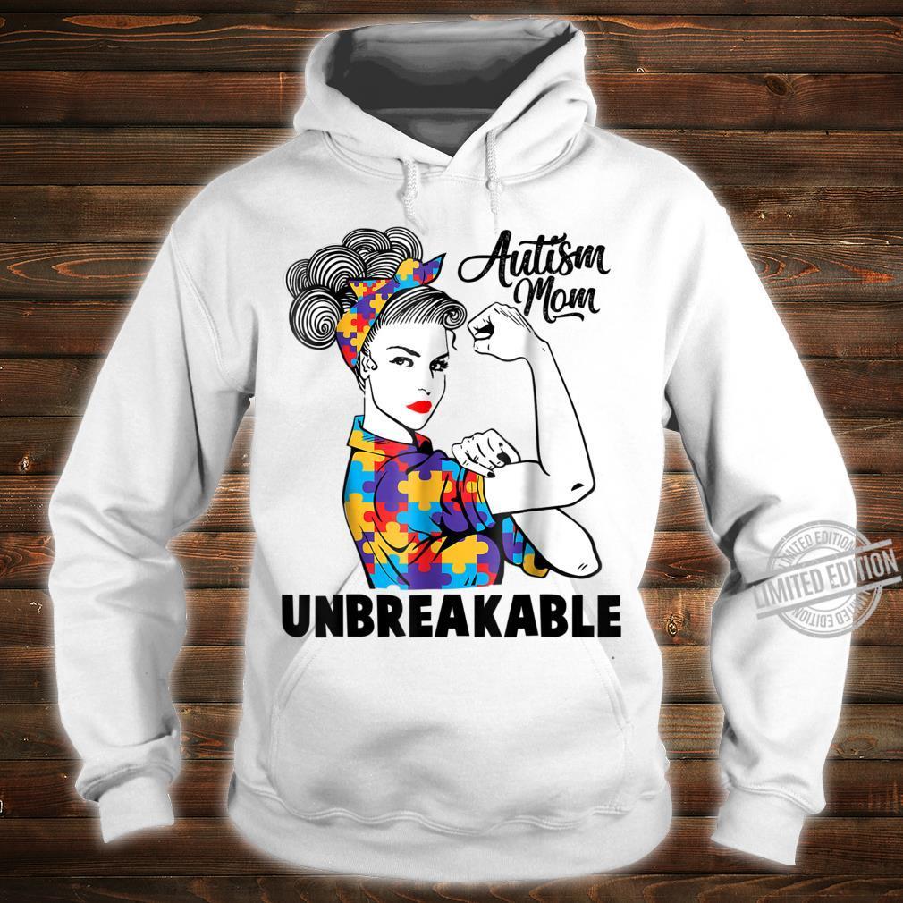 Autism Mom Unbreakables Autism Awareness Shirt hoodie