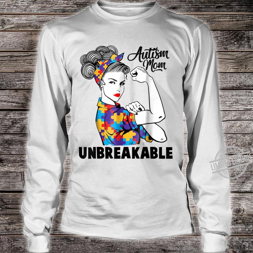 Autism Mom Unbreakables Autism Awareness Shirt long sleeved