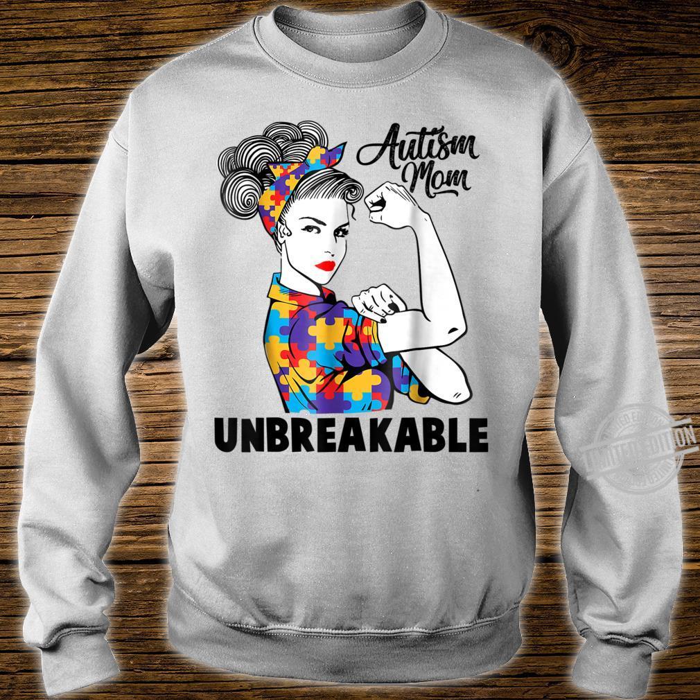 Autism Mom Unbreakables Autism Awareness Shirt sweater