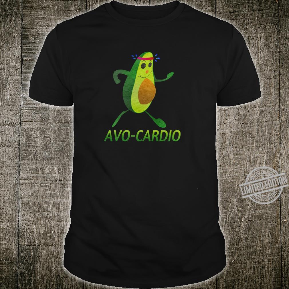 AvoCardio Design Lustiges Avocado Workout avocardio Shirt
