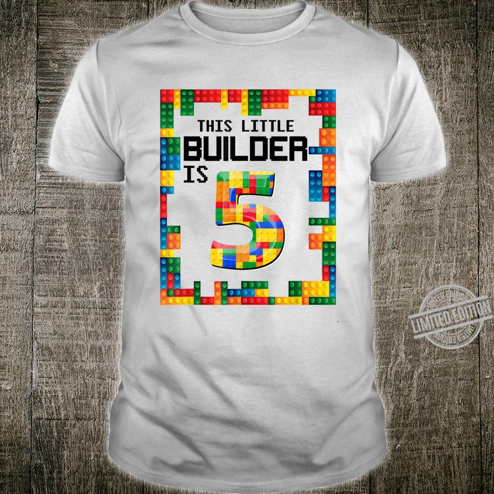 Awesome Birthday Outfits This Builder Is 5 Shirt