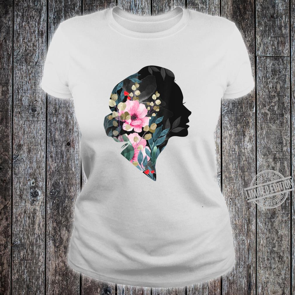 Awesome Girls, Women's Day 8The March, Floral's Shirt ladies tee