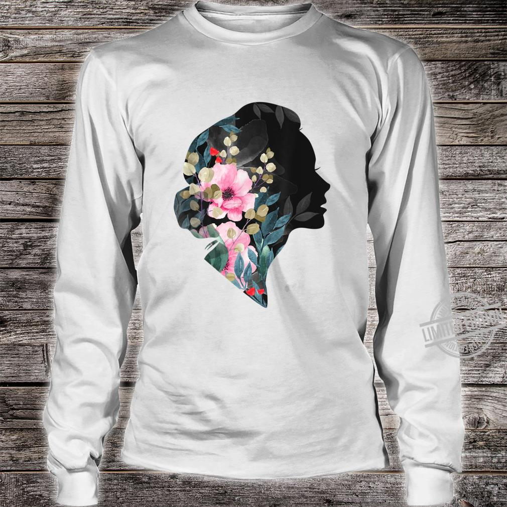 Awesome Girls, Women's Day 8The March, Floral's Shirt long sleeved