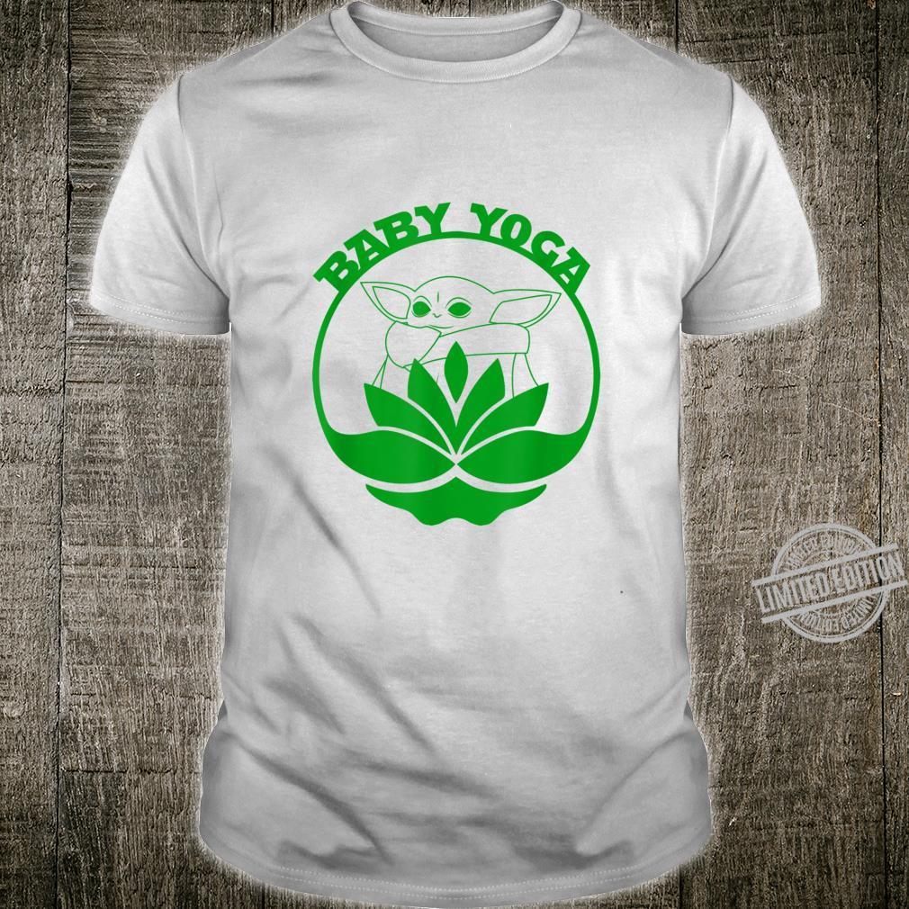 Baby Yoga Cute Fitness Meditation Shirt