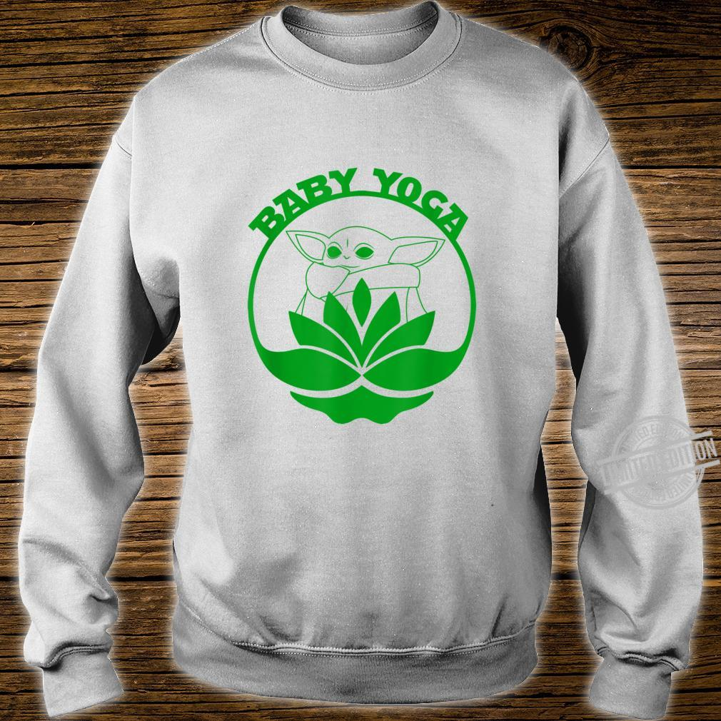 Baby Yoga Cute Fitness Meditation Shirt sweater