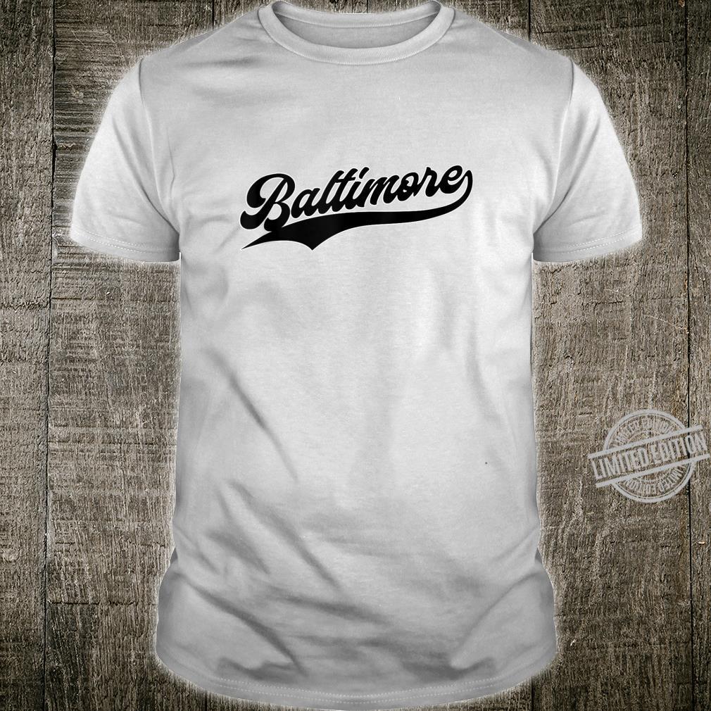 Baltimore Baseball Vintage Oriole Retro Shirt