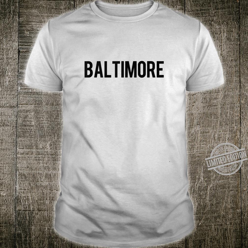 Baltimore Retro City Shirt Pride Mom Dad Shirt