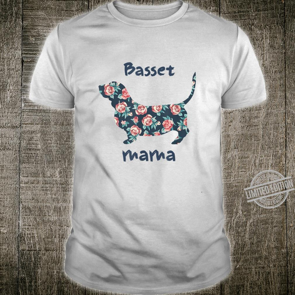 Basset Hound Shirt Mama Mom Mother Grandma Shirt