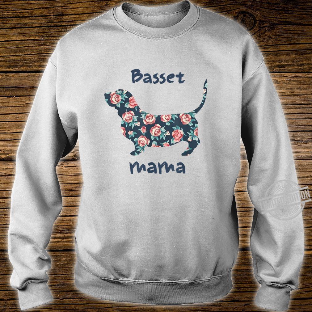 Basset Hound Shirt Mama Mom Mother Grandma Shirt sweater