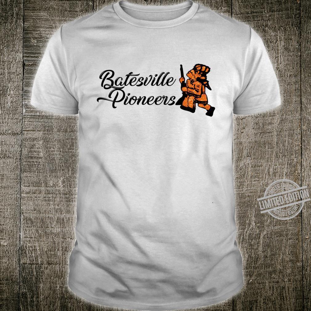 Batesville Pioneers Glitter Racerback Shirt