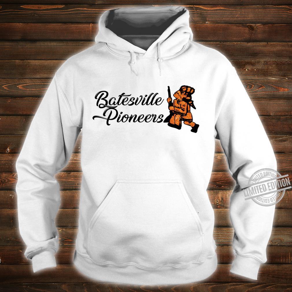 Batesville Pioneers Glitter Racerback Shirt hoodie