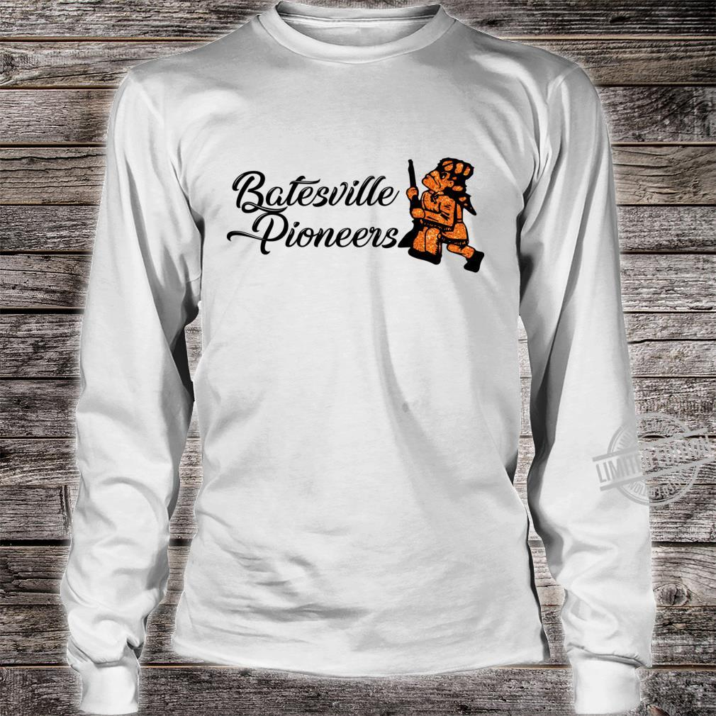 Batesville Pioneers Glitter Racerback Shirt long sleeved