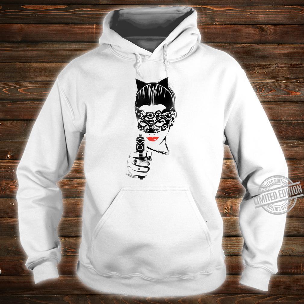 Batman Dark Knight Rises Catwoman Cat Gun Shirt hoodie