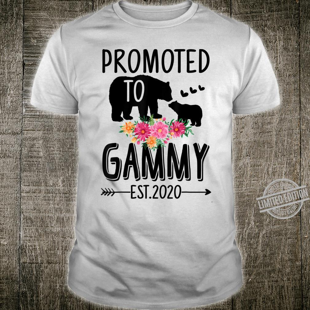 Bear Promoted to Gammy Est 2020 Mother's Day Shirt
