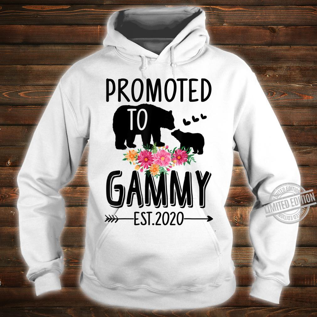 Bear Promoted to Gammy Est 2020 Mother's Day Shirt hoodie