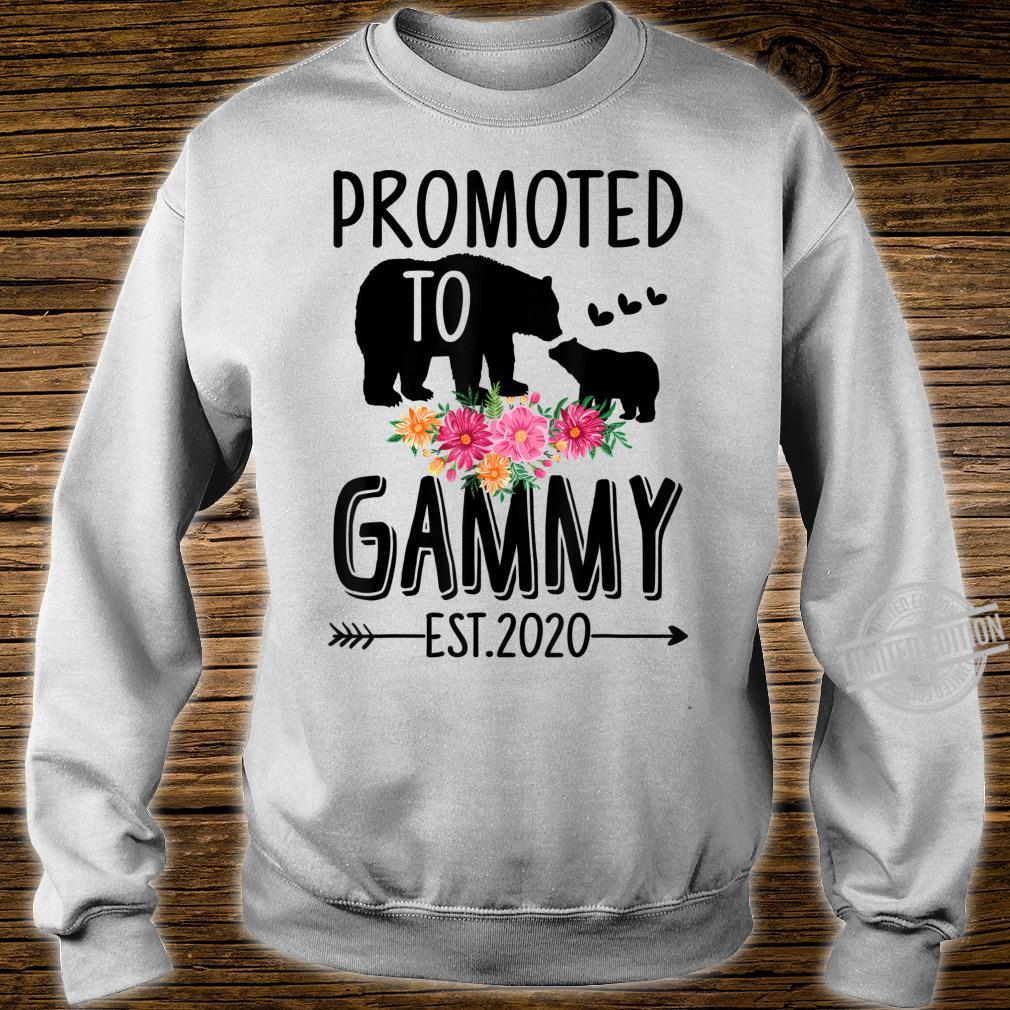 Bear Promoted to Gammy Est 2020 Mother's Day Shirt sweater