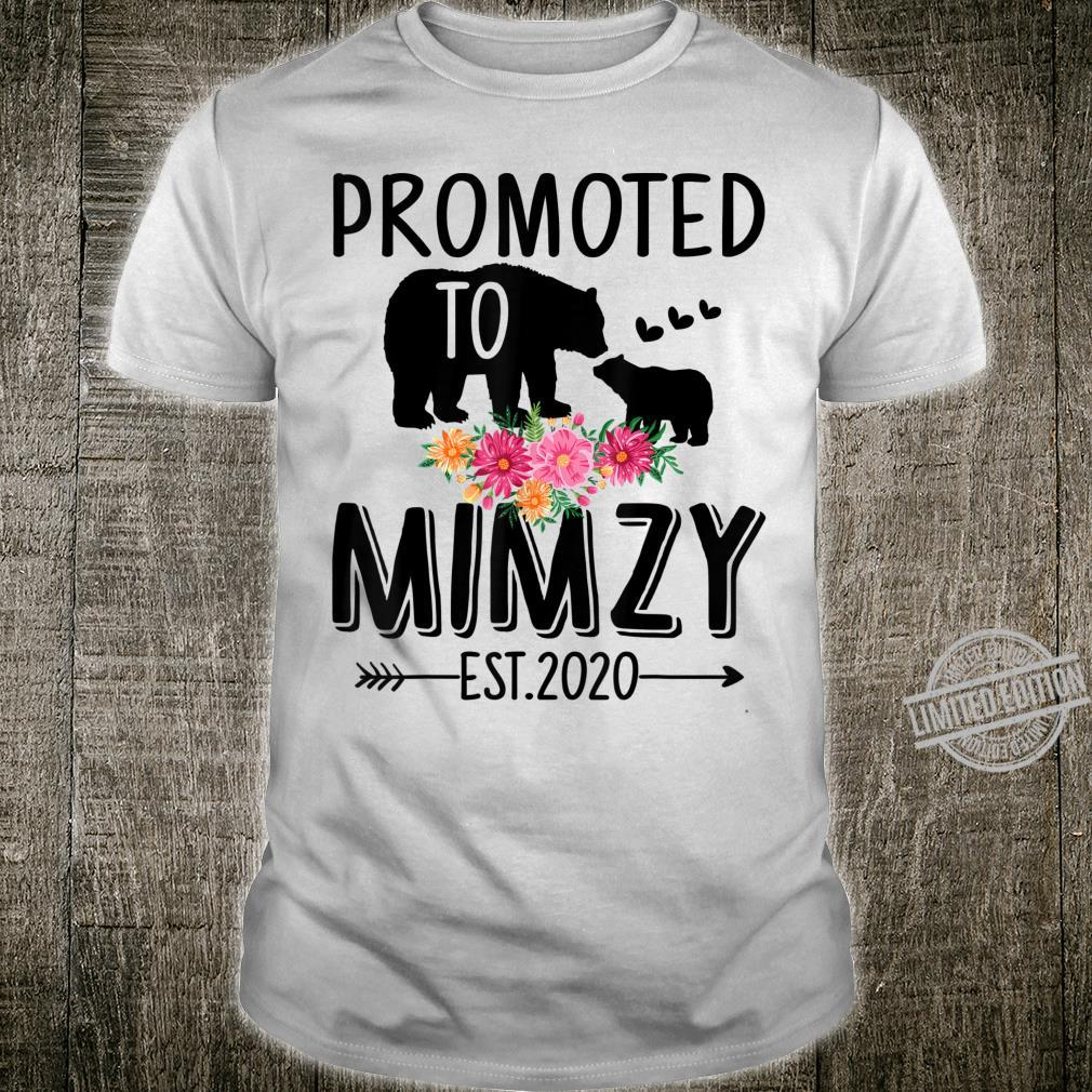 Bear Promoted to Mimzy Est 2020 Mother's Day Shirt