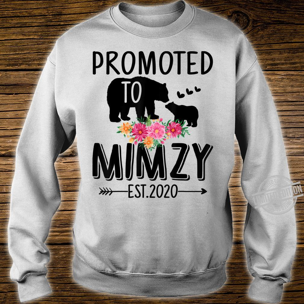 Bear Promoted to Mimzy Est 2020 Mother's Day Shirt sweater