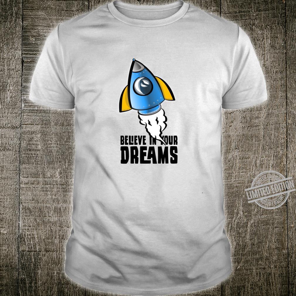 Believe in your Dreams Racerback Shirt