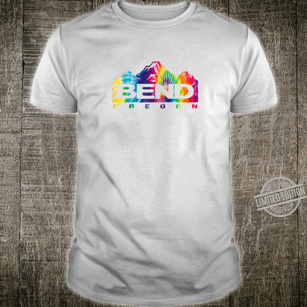 Bend Oregon Mountains Tie Dye Shirt