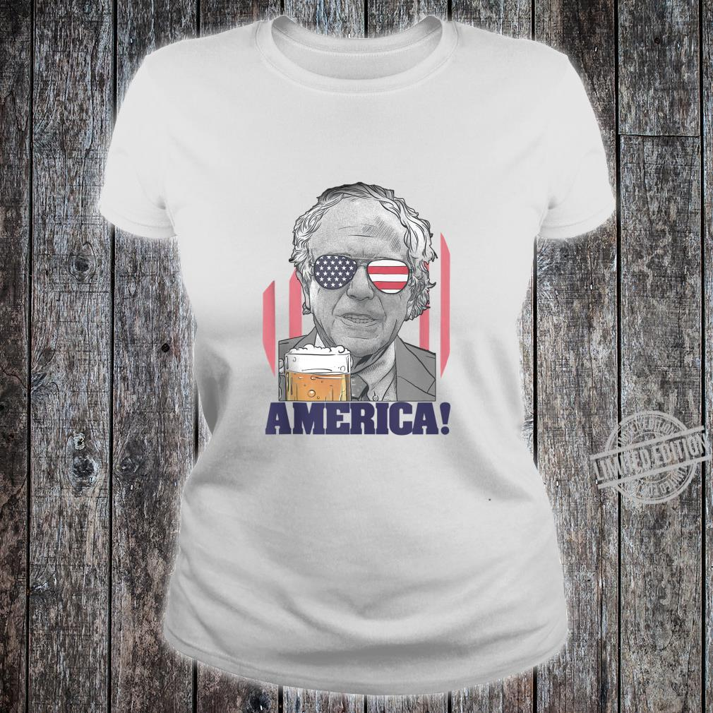 Bernie Sanders Shirt 2020 4th of July American Flag Shirt Shirt ladies tee