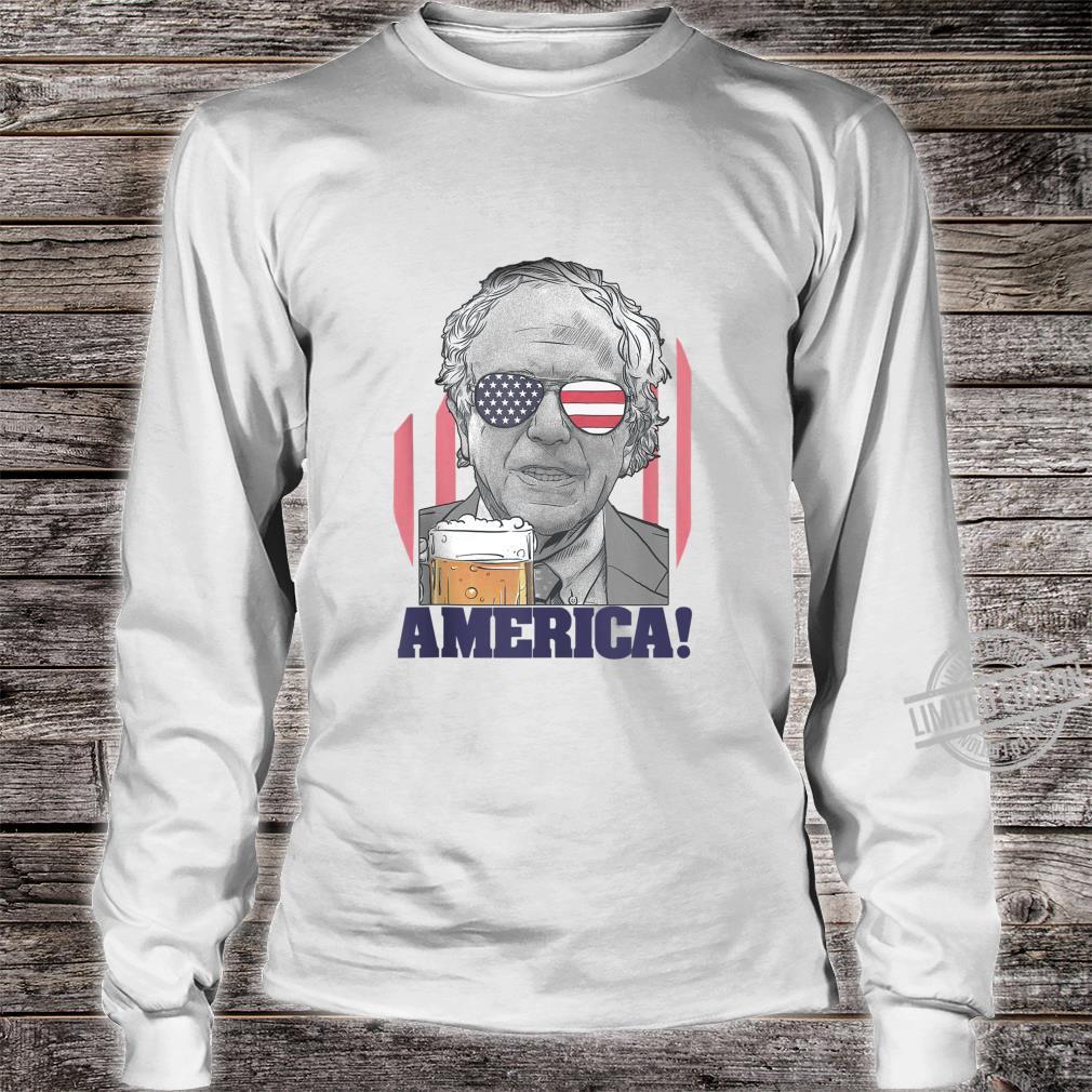Bernie Sanders Shirt 2020 4th of July American Flag Shirt Shirt long sleeved