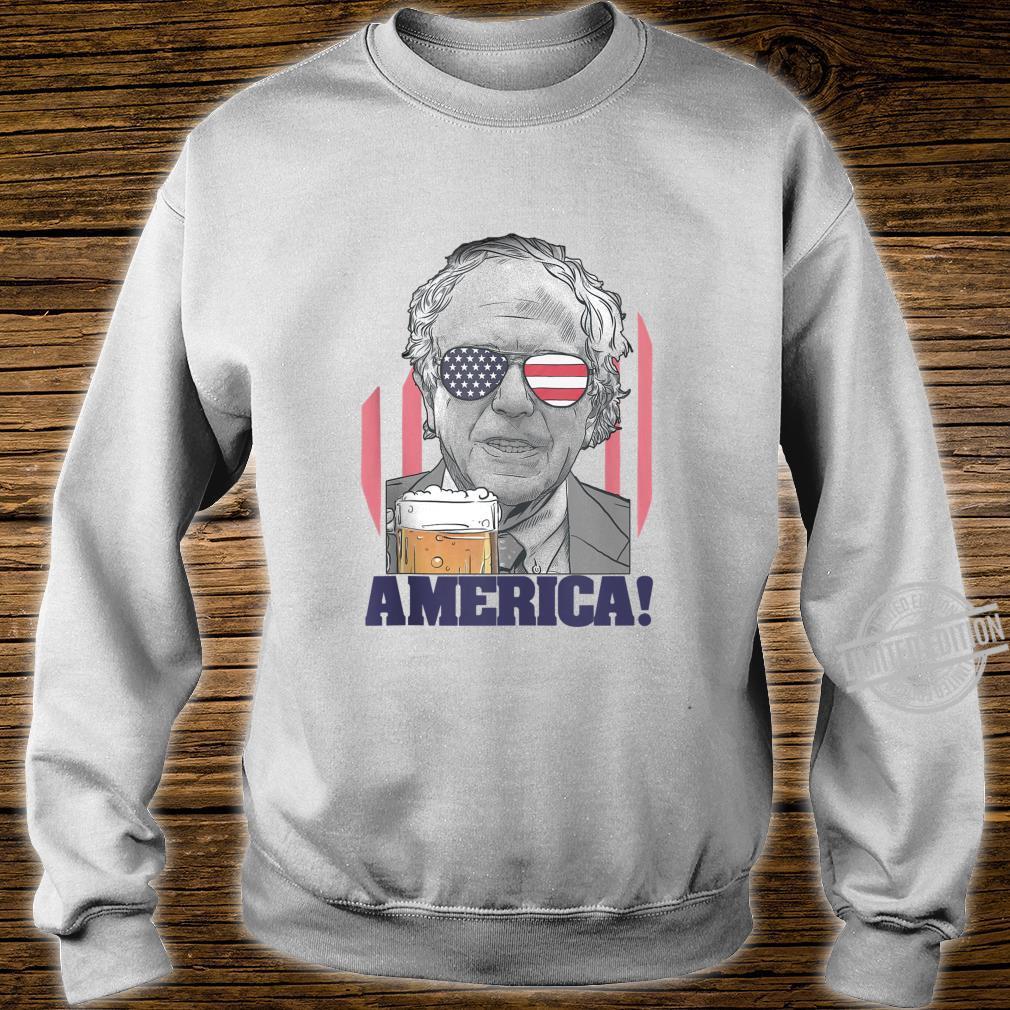 Bernie Sanders Shirt 2020 4th of July American Flag Shirt Shirt sweater