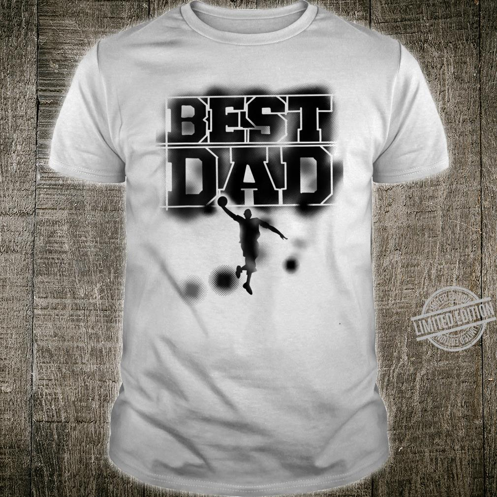Best Dad Cute Basketball Player Father's Day Shirt