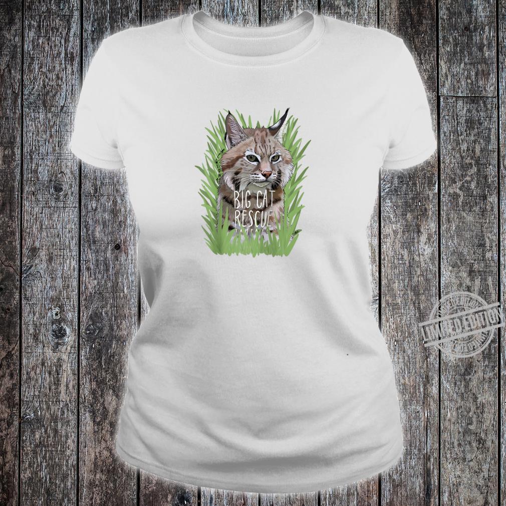Big Cat Rescue Kewlona the Bobcat Shirt ladies tee