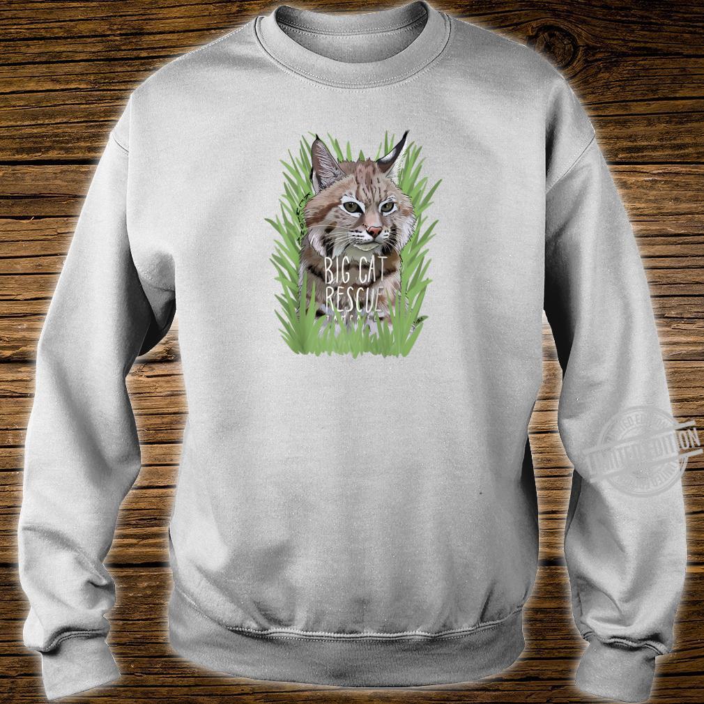 Big Cat Rescue Kewlona the Bobcat Shirt sweater