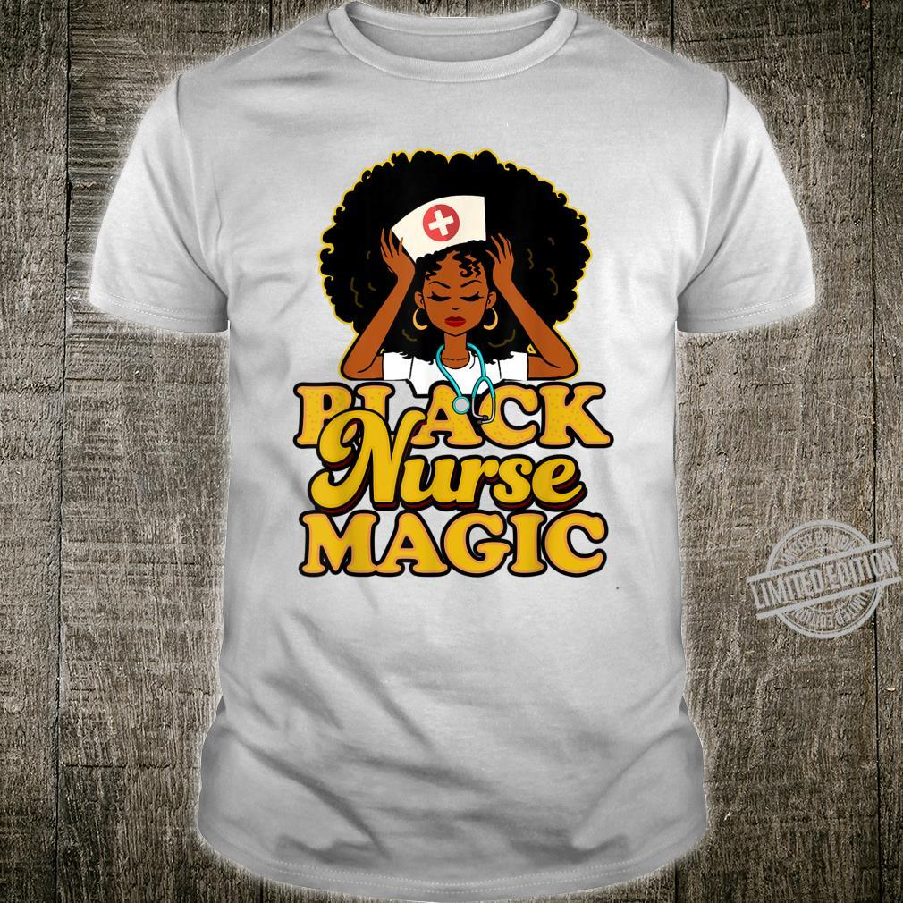 Black Girl Magic Black Shirt
