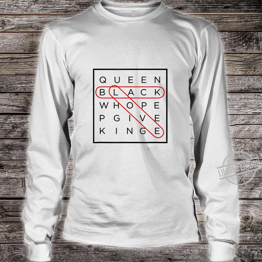 Black Love Themed Word Search Puzzle with Answers Circled Shirt long sleeved