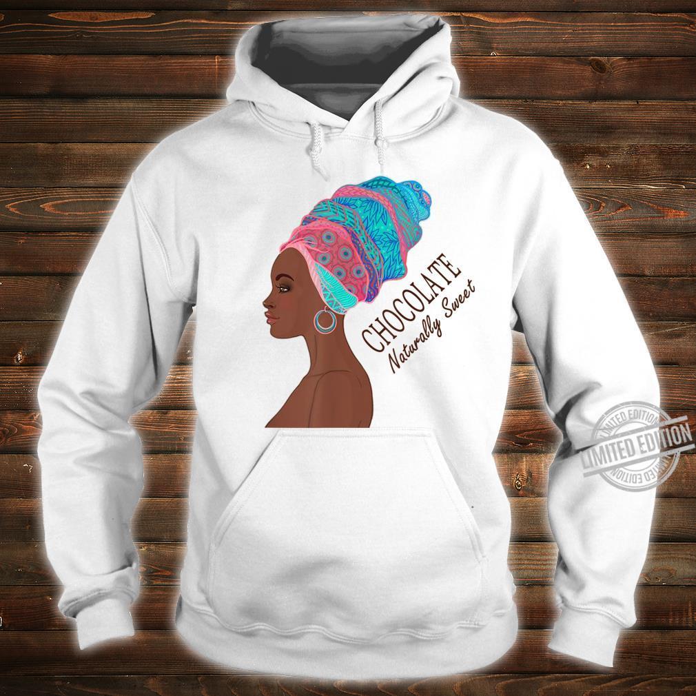 Black Pride Chocolate Naturally Sweet African American Shirt hoodie