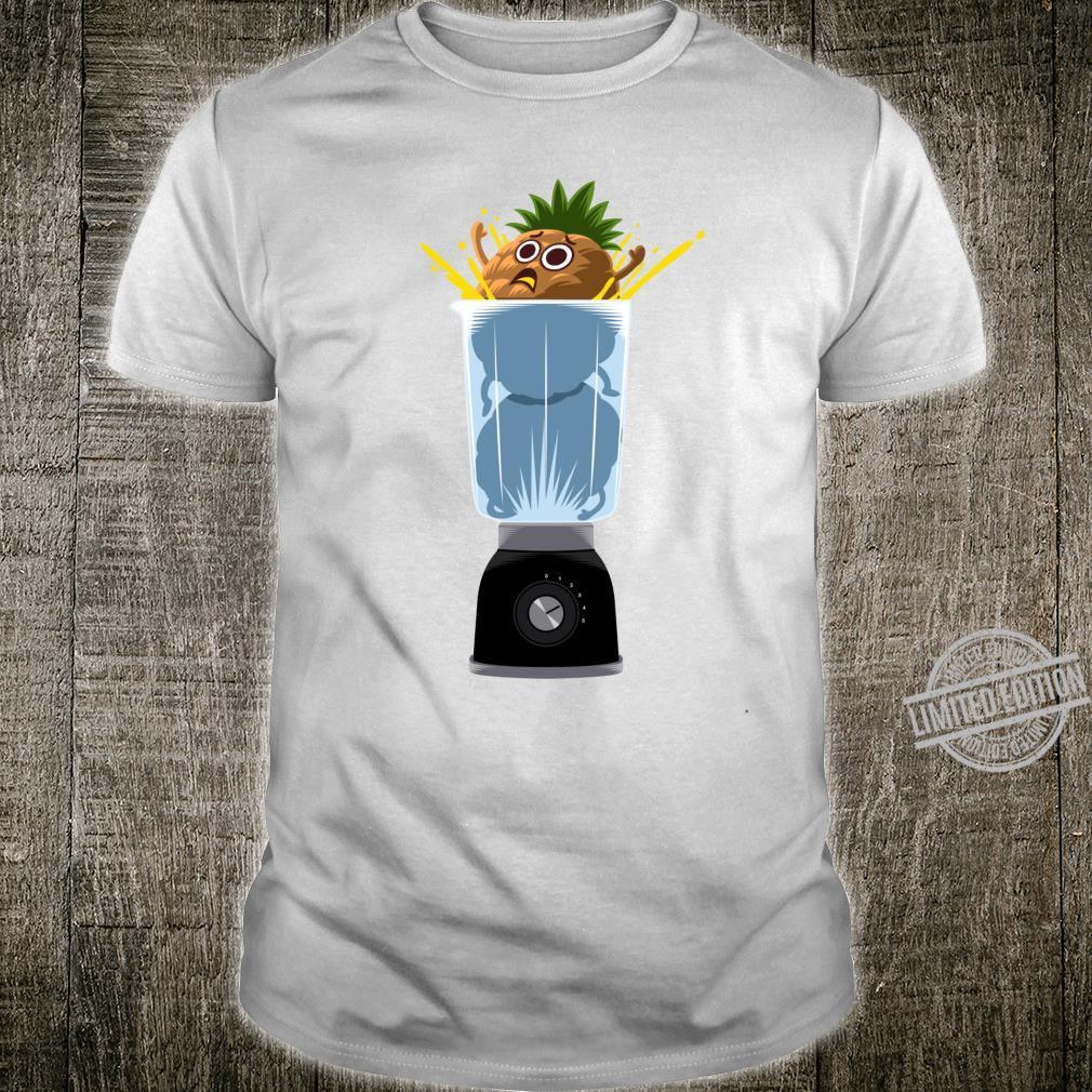 Blending a pineapple Shirt