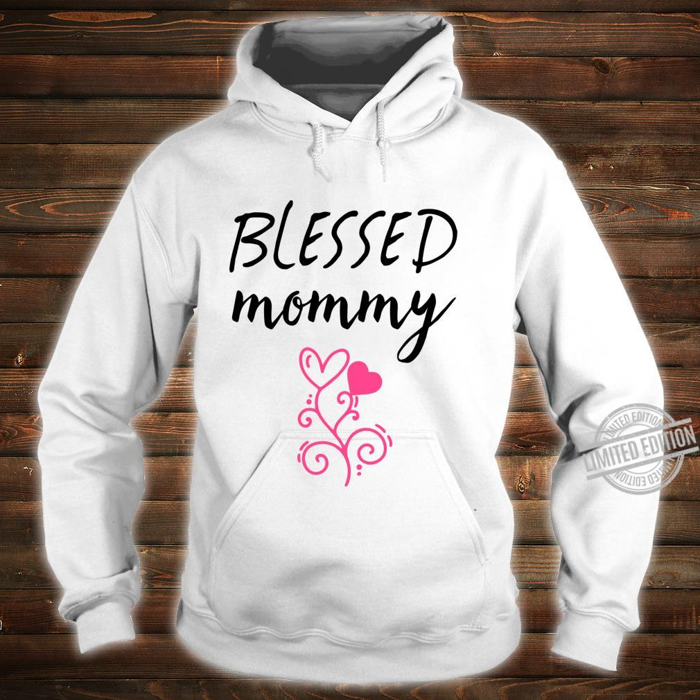 Blessed Mommy Shirt,Badass Mama Wife Mom Boss Blessed Momma Shirt hoodie
