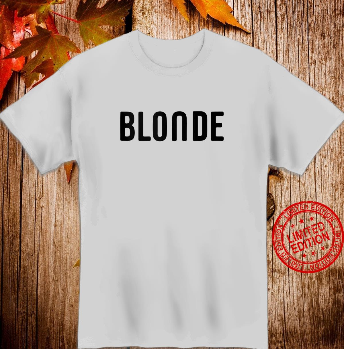 Blonde Hair Color Shirt