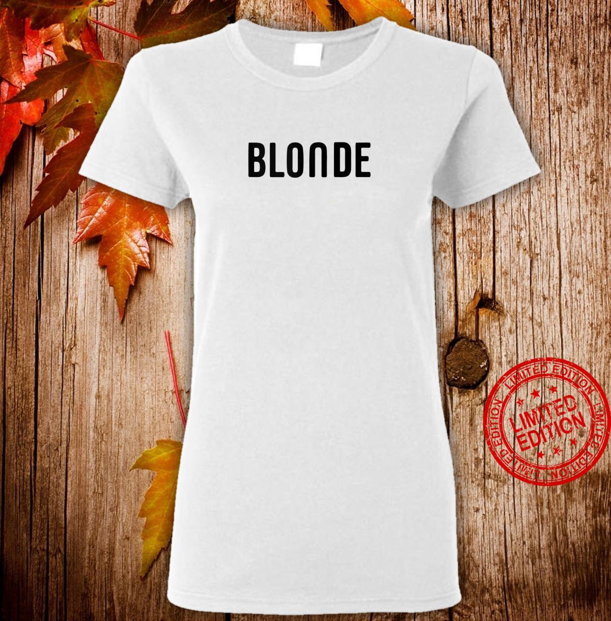 Blonde Hair Color Shirt ladies tee