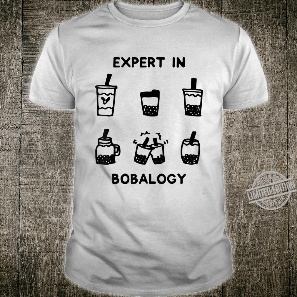 Boba Drink Food Related Foodie Bubble Tea Expert Shirt