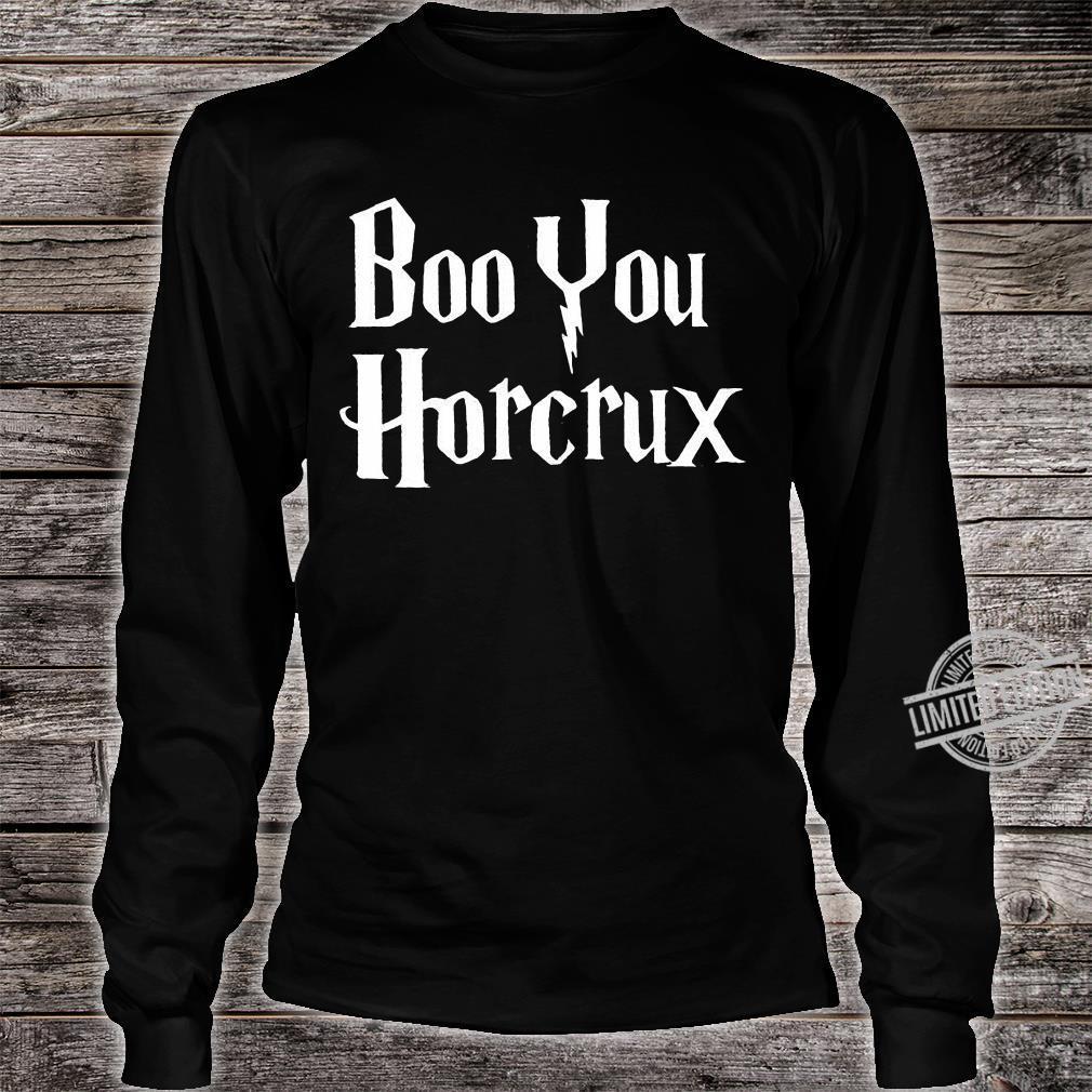 Boo you horcrux shirt long sleeved