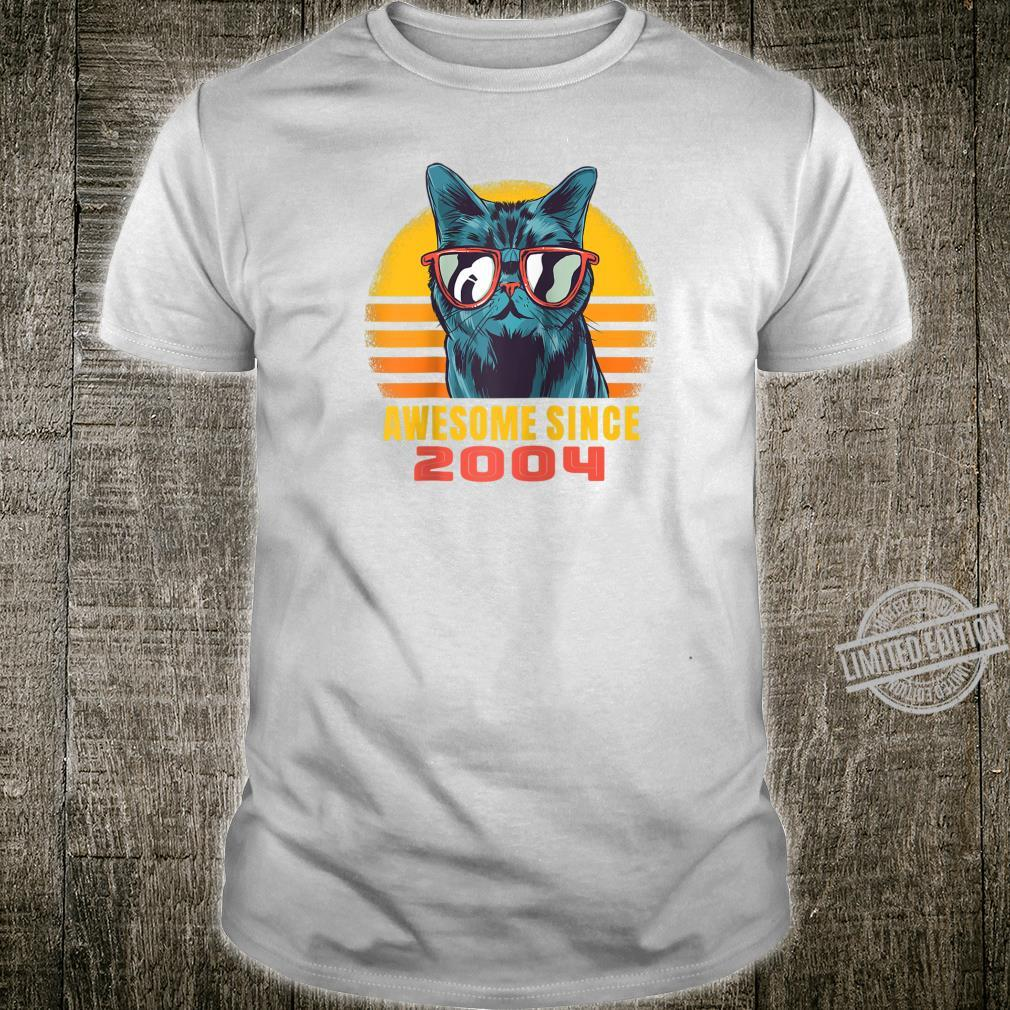 Born in 2004, 16 years old 2020 Birthday Vintage Shirt