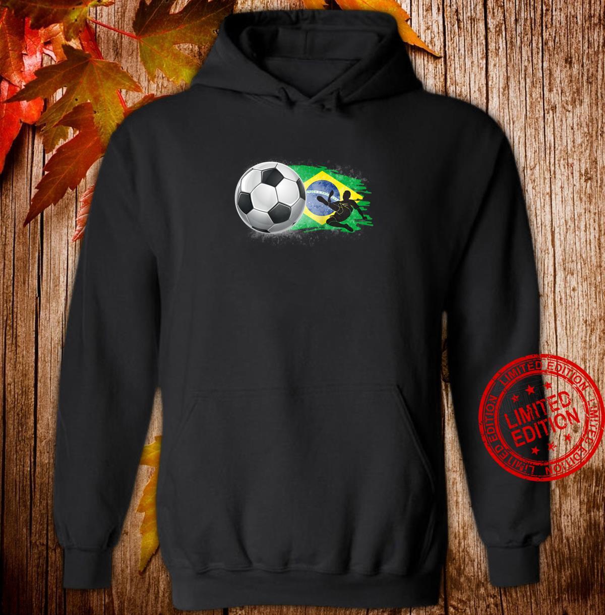 Brazil Cheer Jersey 2018 Football Brazilian Flag Design Shirt hoodie