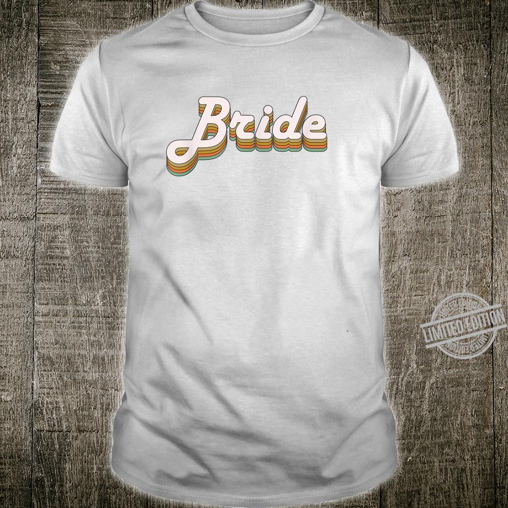 Bride Bachelorette party crew vintage Shirt