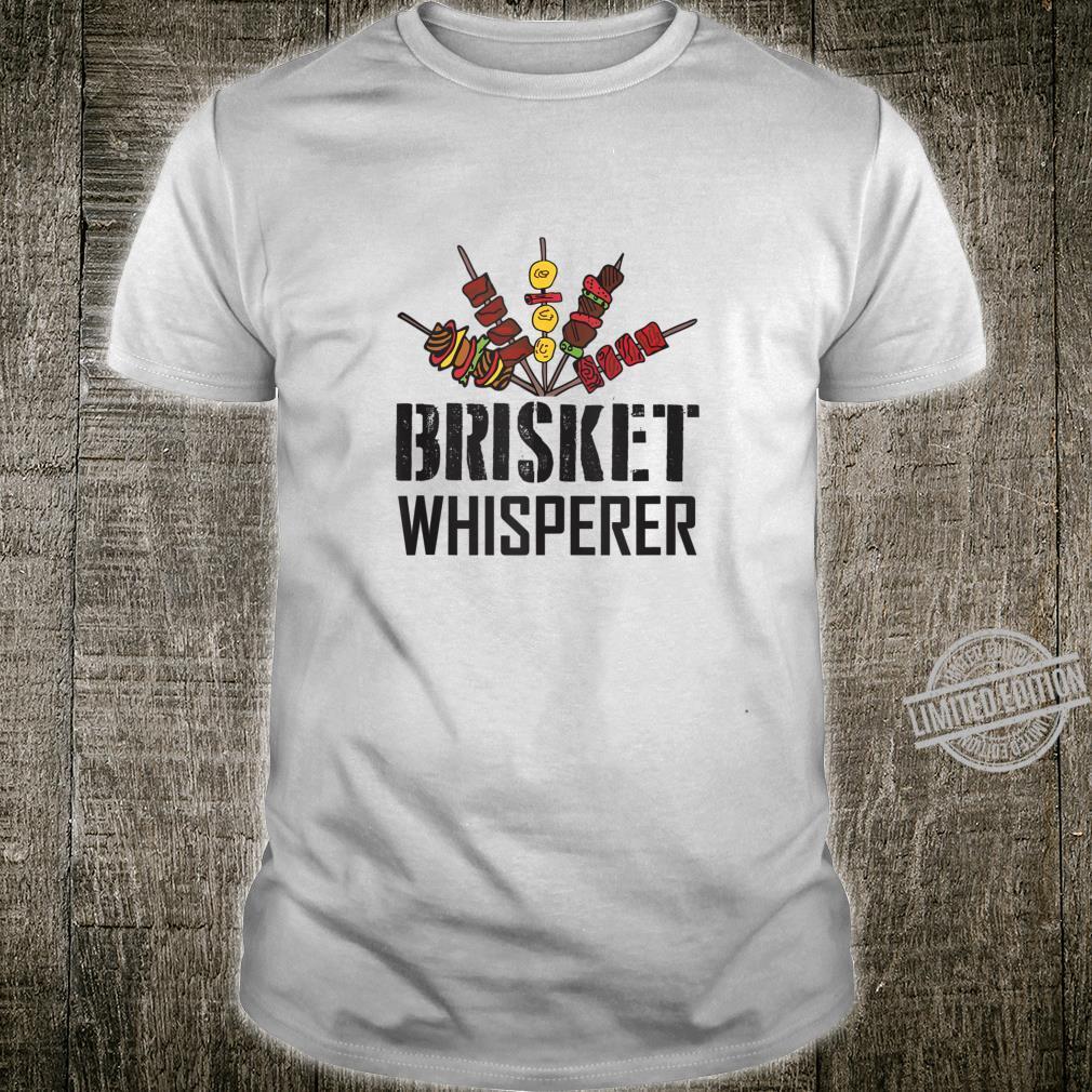 Brisket Whisperer carnivore bbq meat grilling Shirt
